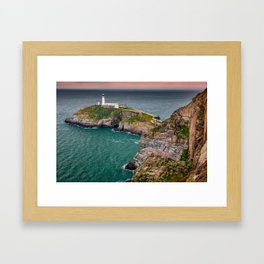 South Stack Lighthouse Framed Art Print