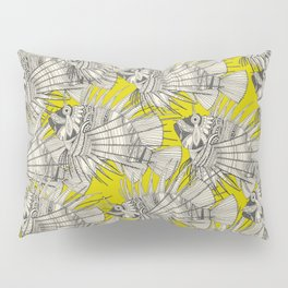 fish mirage chartreuse Pillow Sham