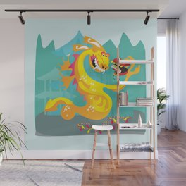 Year of the Dragon Wall Mural