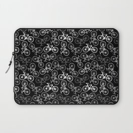 Bicycles in Monochrome Laptop Sleeve