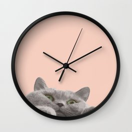 Meowing Wall Clock