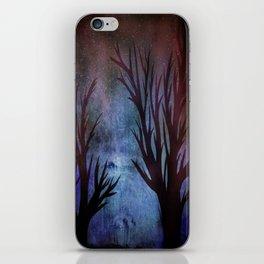 Night Trees iPhone Skin
