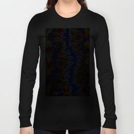 Authentic Aboriginal Art - Waterholes Corela Long Sleeve T-shirt