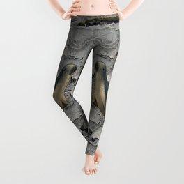 Cracked Seal Leggings