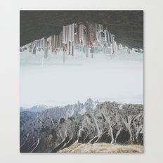 Between Earth & City II Canvas Print