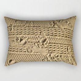 The Diary of a Beach. Rectangular Pillow
