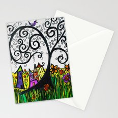 Monday Whimsy Doodle _original Stationery Cards