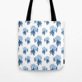 Blue Rhododendron Tote Bag