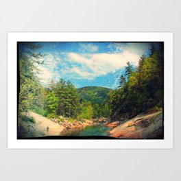 Wilson Creek Art Print