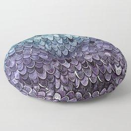 MAGIC MERMAID - MYSTIC TEAL-PURPLE Floor Pillow