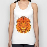 courage Tank Tops featuring Courage by jenkydesign
