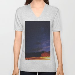Galaxy Drive, Valley of Fire NV Unisex V-Neck