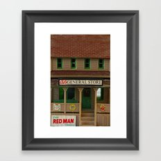 General Store Framed Art Print