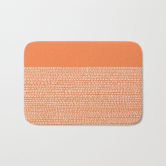 Riverside - Celosia Orange Bath Mat
