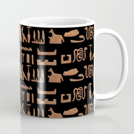 Hieroglyphics pattern, ancient egypt Coffee Mug