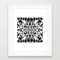 chic Framed Art Prints featuring Chic by Ornaart