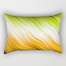 Stripes Wave Pattern 10 Rectangular Pillow