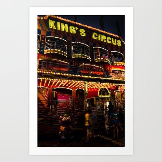 King's Circus Art Print