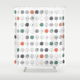 Fun Forest Shower Curtain