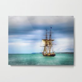 The Journey Begins - Flagship Niagara, Erie, PA Metal Print