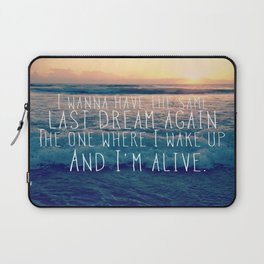 Favorite Sunrise Inspiration Laptop Sleeve
