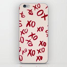 Lots of kisses iPhone Skin