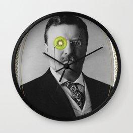 Teddy Kiwi Wall Clock