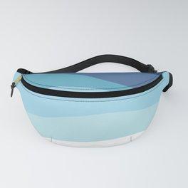 Blue Ocean Waves ! Fanny Pack