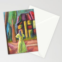 Headless Mall Girl Stationery Cards