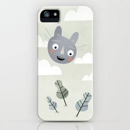 Cat in the Sky. iPhone Case