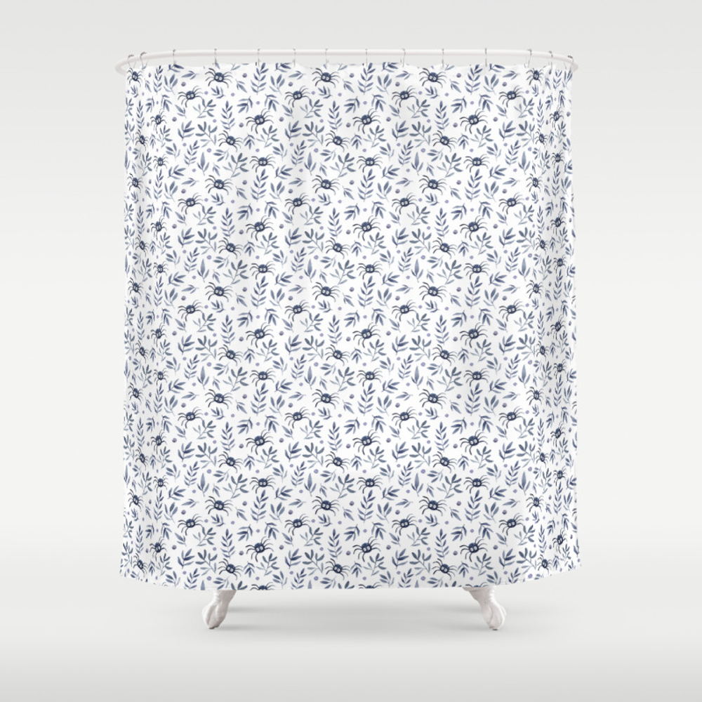 Spiders Forest Shower Curtain by Kaixo CTN7611622