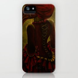 Lady Aves iPhone Case
