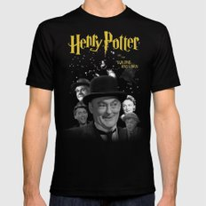 Henry Potter & The Building & Loan MEDIUM Black Mens Fitted Tee