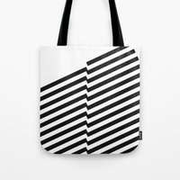 bands Tote Bags featuring Blacknote Bands by blacknote