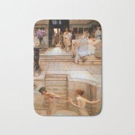 A Favorite Custom 1909 Sir Lawrence Alma Tadema Bath Mat
