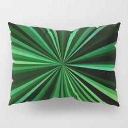 North Texas Green Sun Pillow Sham