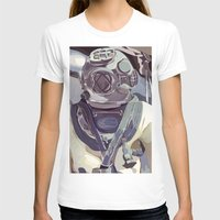 diver T-shirts featuring Diver by Five Ate Five Studios