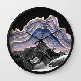 Agate Mountains Wall Clock