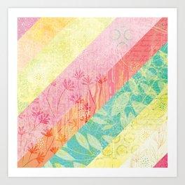 Whim Stripes Art Print