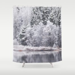 Winter has arrived - Landscape #decor #society6 #buyart Shower Curtain