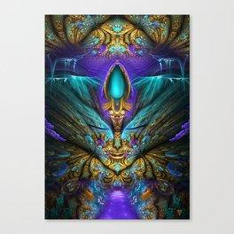 Transcendental - Fractal Manipulation Canvas Print