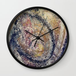 Spiral Galactic Myst Wall Clock
