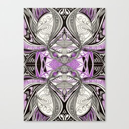 Medo Bema (My Love Bema) 3 Symmetrical design  Canvas Print