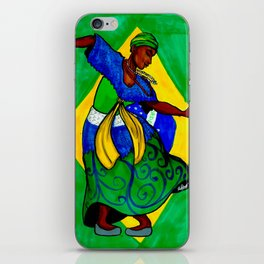 Pátria Amada Brasil! iPhone Skin