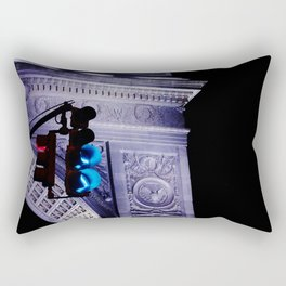 Green in the night Rectangular Pillow