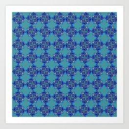 Glorious Heavenly Blue Art Print