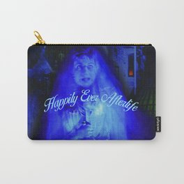 Constance the Ghostly Black Widow Bride in the Attic Carry-All Pouch