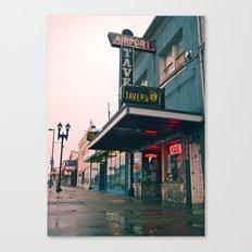 Airport Tavern Canvas Print