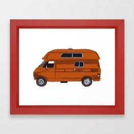 Rico's Van Framed Art Print