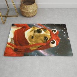 Lobster Corgi Meme Rug